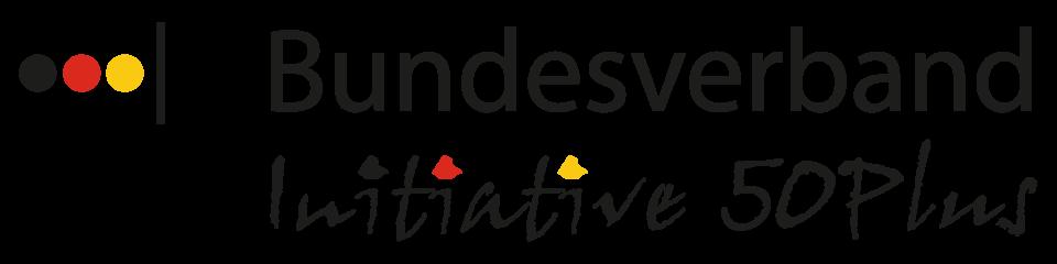 Logo des Bundesverbands Initiative 50Plus - Partner Deutsche Leibrenten Grundbesitz AG