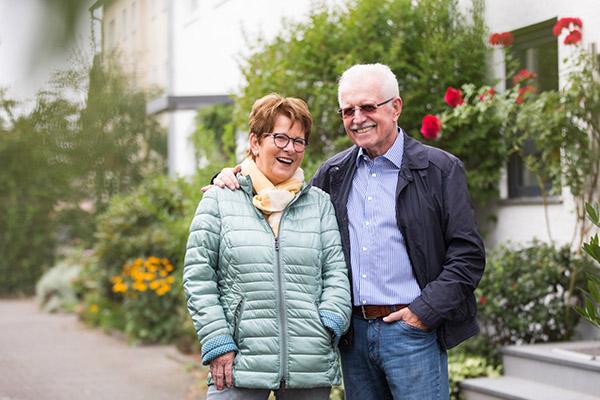 Finanziell Sorglos: Die Immobilienrente der Deutschen Leibrenten AG unterstützt Joachim Rickauf