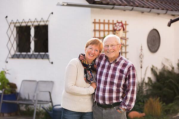 Ende gut Alles gut: Horst Schlägel ist rundum glücklich mit der Deutschen Leibrente