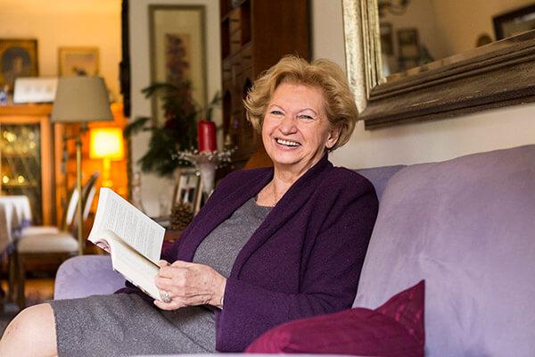 Mehr Erfüllung im leben. Die Immobilienrente der Deutschen Leibrenten AG ermöglicht es Senioren.