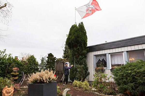 Haus mit Garten anstatt seniorengerechte Mietwohnung, dank der Immobilienrente der Deutschen Leibrenten Ag