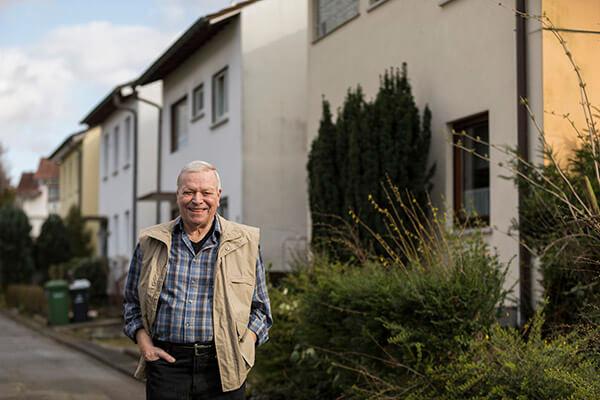 Klaus Wehrle berichtet über seine positiven Erfahrungen mit der Deutschen Leibrenten AG