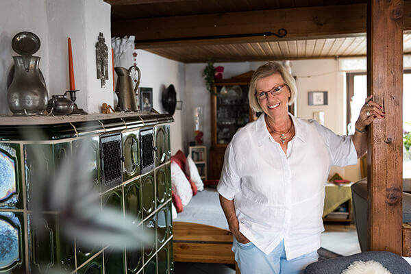 Gudrun Ringmeier berichtet über ihre Beweggründe sich für die Immobilienrente der Deutschen Leibrenten AG entschieden zu haben