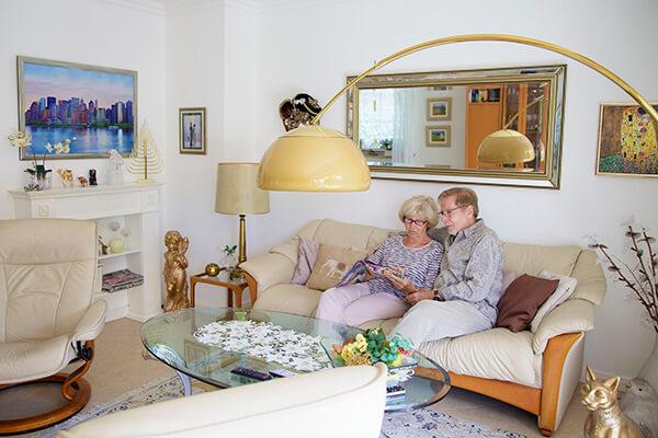Das Leben im Alter genießen. Kein Problem, mit der Immobilienrente der Deutschen Leibrenten AG