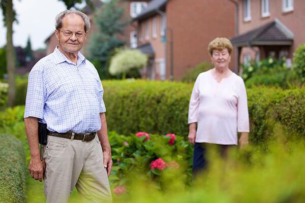 Helga und Walter Rodewald berichten über ihre positiven Erfahrungen mit dem Service der Deutschen Leibrenten AG.